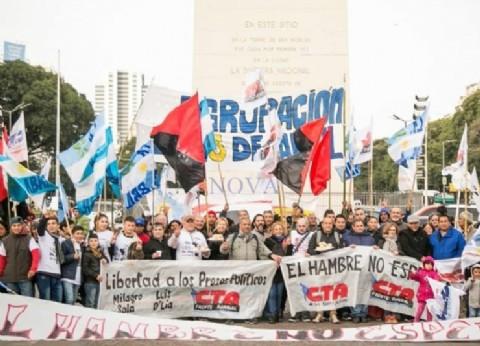 """""""El hambre no espera"""": realizarán una Jornada Nacional de Ollas Populares"""