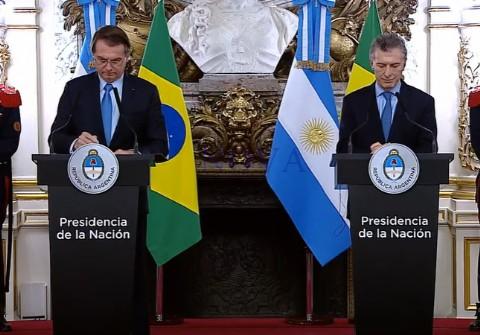 Con fuertes críticas a Venezuela, Macri y Bolsonaro están más amigos que nunca
