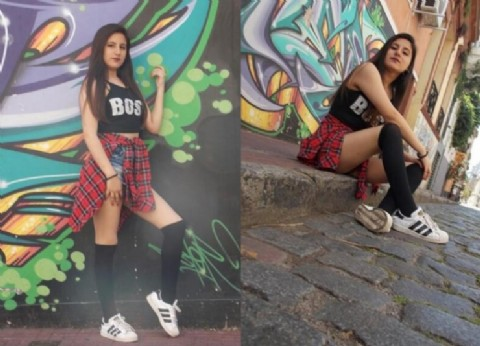 "Camila Soria: ""Me gustaría poder vivir del modelaje"""