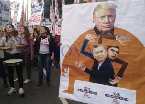 Bolsonaro es odiado por el mundo y se lo hacen saber en las calles porteñas