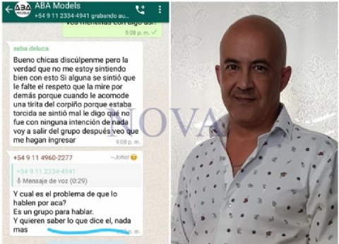 Sebastián Deluca y su condición de abusador: duros relatos de modelos menores contra él