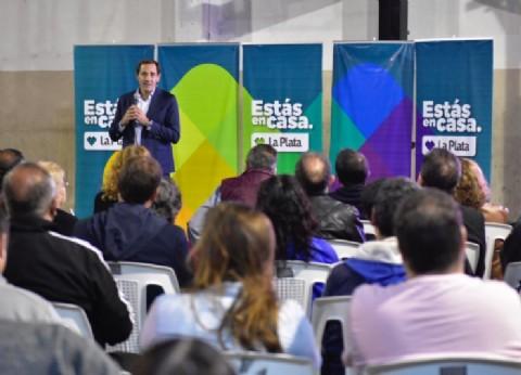 La Plata: Garro lanzó el Programa de Fortalecimiento de Clubes y destacó su rol para la formación de los jóvenes