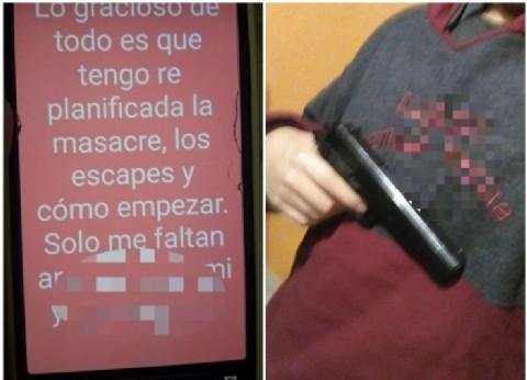 Una comunidad educativa en alerta por las amenazas de un alumno de cometer una masacre