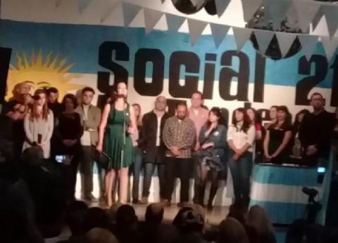 """El nuevo espacio """"Social 21, La Tendencia"""" presentó a sus candidatos"""