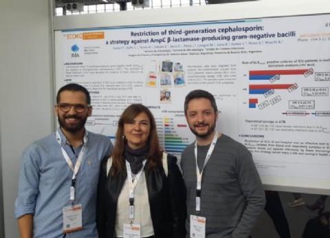 Infectólogos del sistema de salud de Malvinas Argentinas participaron del Congreso Europeo de Microbiología