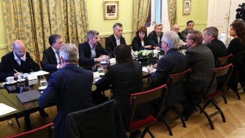 Reunión de Gabinete con la flamante fórmula: deja al descubierto la nula injerencia de la UCR en Cambiemos
