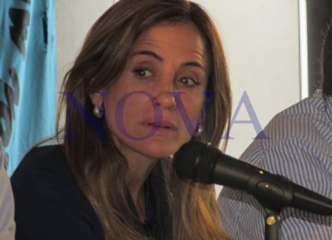 La precandidata platense Tolosa Paz se retiró antes de salir al aire en un programa cuando intentaron desenmascararla