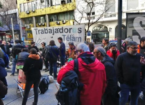 El Día del Periodista más triste de Télam: muchos en la cuerda floja de ser despedidos