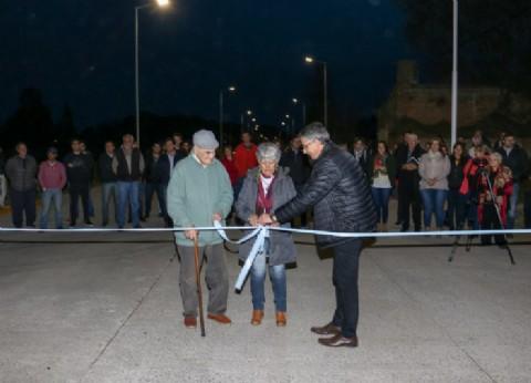 El intendente de Giles inauguró la Avenida San Andrés