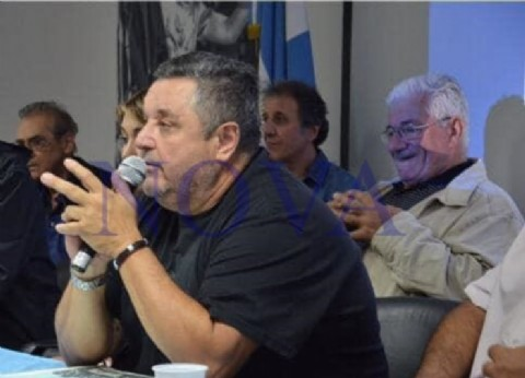 """Multitudinario acto de la Mesa Político-Sindical """"Lavagna Presidente"""" en la Tercera Sección"""