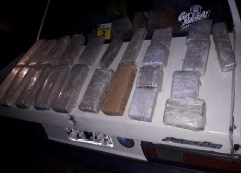 En Paso del Rey no pasaron ellos: detuvieron a dos paraguayos con 29 kilos de marihuana