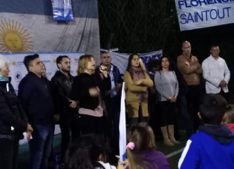 La Plata: el kirchnerismo respaldó la candidatura de Florencia Saintout con un plenario en Melchor Romero