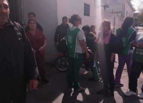 Hermética visita de Vidal al Hospital de Berisso