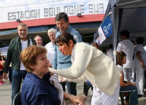 Más de 20 mil personas ya se vacunaron gratis contra la gripe en San Isidro