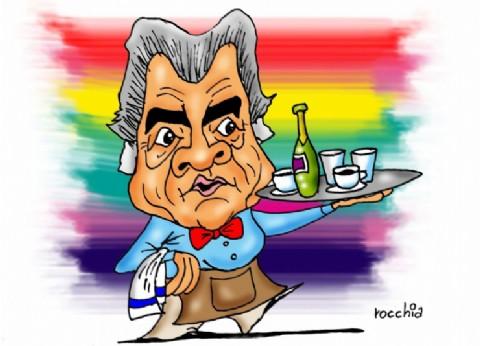 """Un menú picante: Barrionuevo ninguneó a la ex presidenta y dijo que """"está sola, es viuda y es rica"""""""