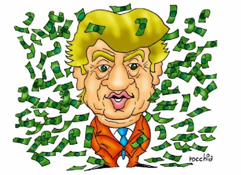 Se pone gordita la deuda: Trump llamó al Presidente y podría enviar 10.000 millones de dólares