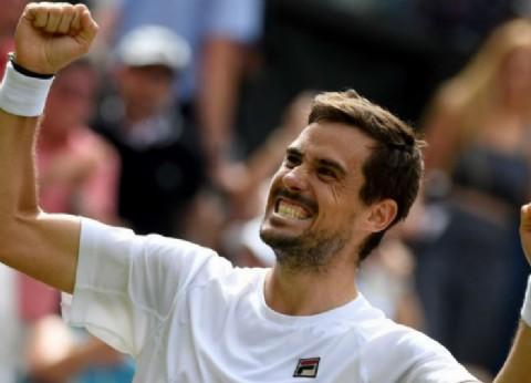 El bahiense Pella hace historia: venció y avanzó a cuartos de final en Wimbledon