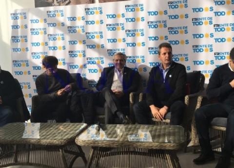 """Alberto Fernández en Necochea destacó la unidad del peronismo y ahora quiere """"que nos encontremos todos los argentinos"""""""
