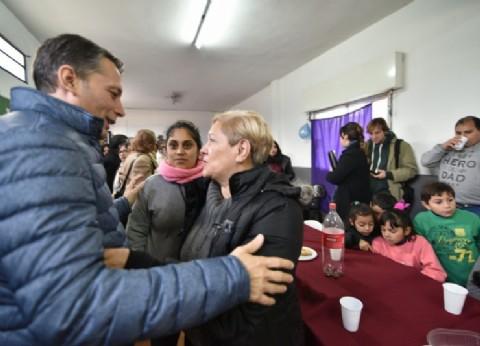 """El intendente de Esteban Echeverría participó del 40° aniversario de la Sociedad de Fomento """"Santa Isabel"""""""