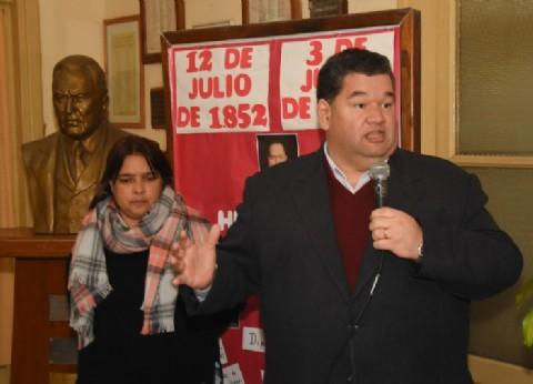 Berisso: el intendente Nedela participó del homenaje a Hipólito Yrigoyen