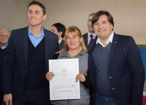 General Rodríguez: más de 300 vecinos recibieron su título de propiedad