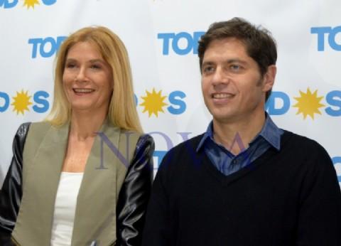 """Kicillof y Magario, en modo campaña: """"Vidal se olvidó de cuidar a los bonaerenses"""""""