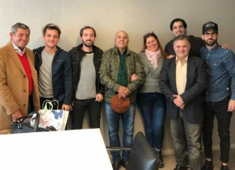 """Valerstein y Tinelli coproducirán una serie sobre """"El Gordo"""" Valor"""