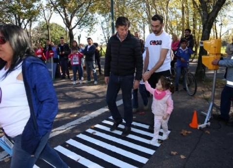 El municipio de San Isidro llevó adelante una jornada de educación vial