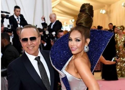 El infinito rodete de Thalía en la Met Gala 2019