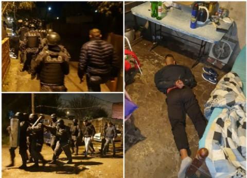Un operativo en Quilmes culminó con nueve detenidos: tres son de la UOCRA y tenían arresto domiciliario