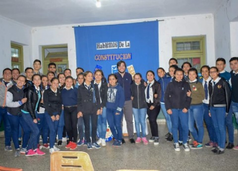 Corrientes: el intendente Hadad de recorrida por instituciones educativas en San Roque