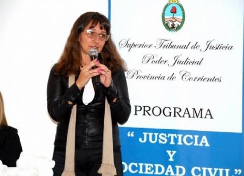 Ex diputada asume en el Senado correntino, en reemplazo del gremialista Rubén Suárez, hallado muerto días atrás