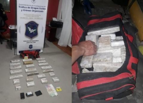 Nuevo golpe al narcotráfico en General Rodríguez