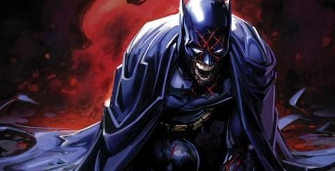 Llegó la versión zombi de Batman a las portadas de la miniserie DCeased