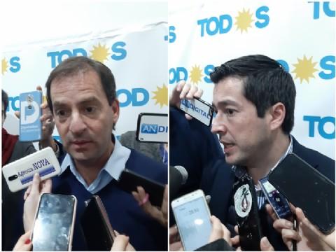 """Nardini y Sujarchuk participaron de la cumbre de intendentes peronistas: """"La Provincia se pondrá de pie"""""""