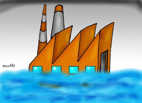 Se hunde como el Titanic: la industria está en retroceso respecto al año pasado y la situación es alarmante
