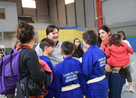 General Rodríguez: más de 300 judocas presentes en la segunda fecha de la Liga Municipal de Judo