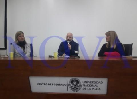 """Stolbizer estuvo en La Plata y dio una charla sobre """"corrupción y Derechos Humanos"""""""