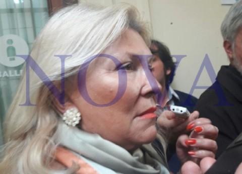 """Lilita furiosa por el crecimiento de la imagen de CFK: """"¿Por qué les gusta tanto votar ladrones?"""""""