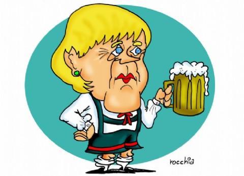 Preocupa la salud de Angela Merkel: por tercera vez, no pudo disimular el temblor de su cuerpo en un acto púbico