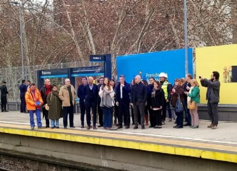 El viaducto San Martín: otra obra impulsada por la campaña electoral para zafar de una posible derrota
