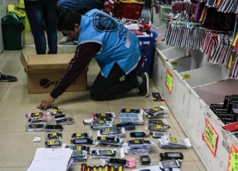 Siete detenidos por vender celulares robados en el barrio porteño de Once