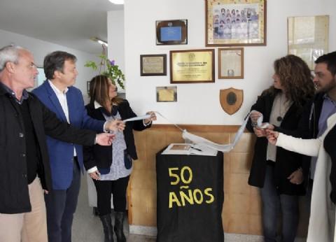 Almirante Brown: Cascallares acompañó los festejos por el 50° aniversario del jardín 904 de Glew