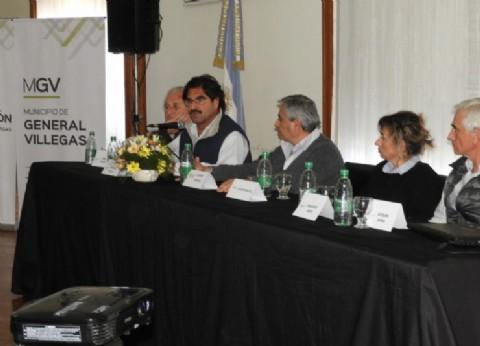 Sarquís encabezó en General Villegas el cierre de la Semana Provincial del Trigo