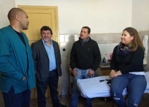 Zuccari continúa acompañando la llegada de médicos venezolanos a localidades de la Cuarta Sección