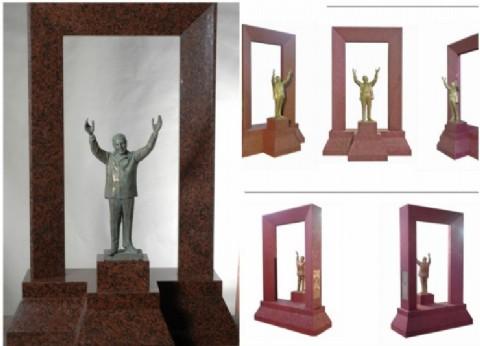 Finalmente, el General Juan Domingo Perón tendrá su colosal estatua en Buenos Aires frente al CCK
