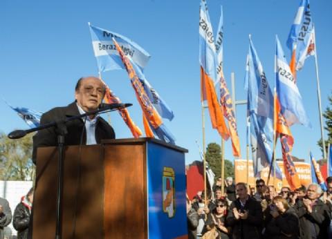 El presidente del Partido Justicialista de Berazategui, Juan José Mussi, hizo un fuerte llamado a la unidad