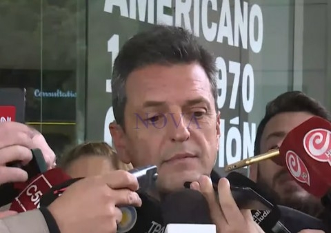 """Massa atajó un puestito y encabezará la lista de diputados: """"Mi candidatura a presidente puede esperar cuatro años"""""""