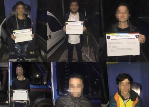 Se les terminó la joda: 15 detenidos por vender drogas en inmediaciones de fiestas electrónicas