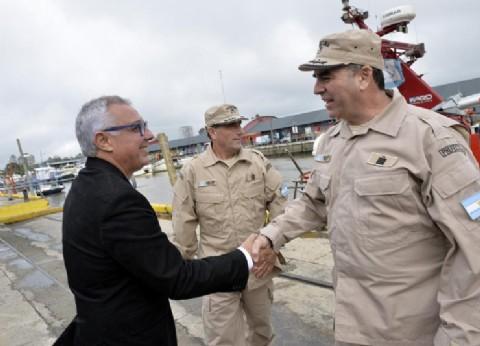 Tigre: Julio Zamora inauguró una Estación de Salvamento, Incendio y Protección Ambiental
